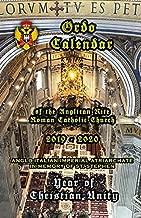 Ordo Calendar of the Anglican Rite Roman Catholic Church 2019-2020
