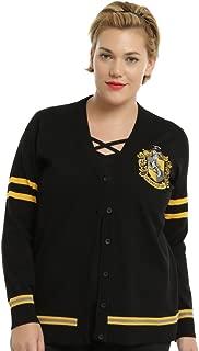 Harry Potter Hufflepuff Girls Cardigan Plus Size