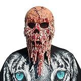 SODIAL Demon Horror Grusel Maske Perfekt Fuer Fasching, Karneval und Halloween Kostuem Fuer Erwachsene Latex, Unisex Einheitsgroesse