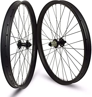 Sywtz 26er XC/AM/Enduro/DH MTB Carbon Wheels Tubeless Rims 24/35/40mm Width for 26 Inch Mountain Bike Bicycle Wheelset