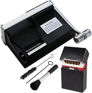 LRXHGOD Elektrische Zigarettenwalzmaschine Zigaretteninjektor Maschine Automatische Rollenwalzmaschine Hersteller Zigarettenh/ülse EU Stecker,Blue