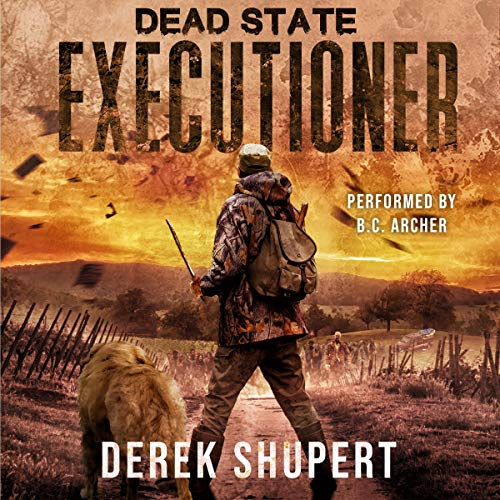 Dead State: Executioner audiobook cover art