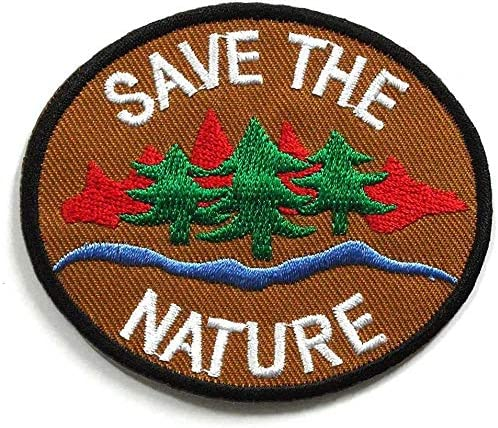 Pack Award of OFFicial mail order 3 Peace002 - Save The Nature Sign Patch Peace