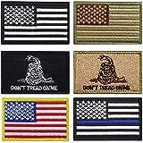 Bundle 6 Pieces Tactical Military Patch Set (A)