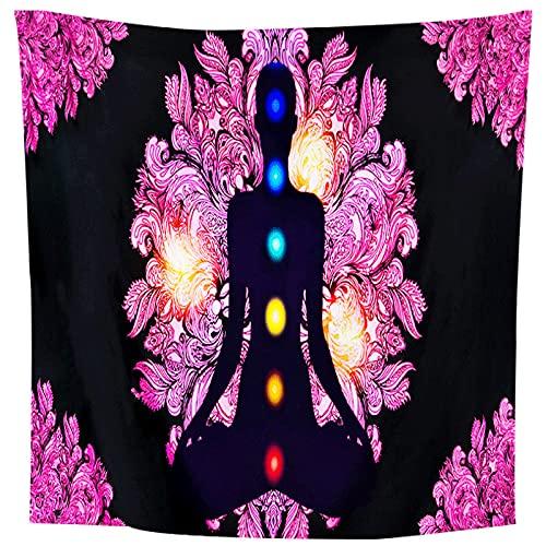 NTtie Tapiz Tela Decoración del Hogar Estera de Yoga Paño Colgante de decoración del hogar del Bosque del Paisaje