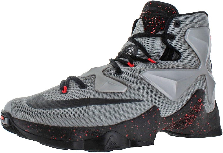 Nike herrar Lebron XIII Metallisk silver  Energi Energi Energi  Hyper Jade  svart Basketball skor - 12 D (M) USA  bra pris