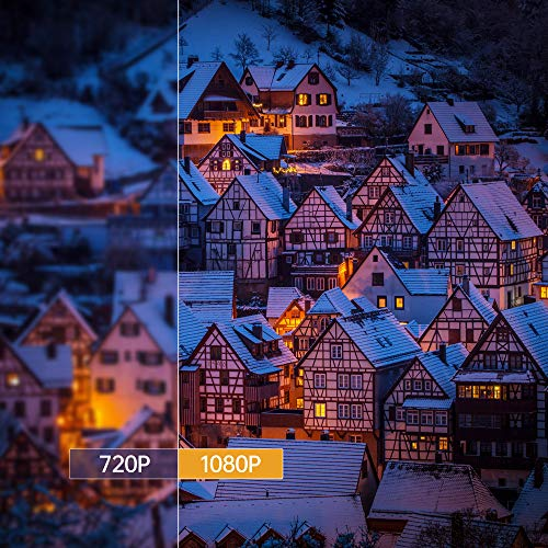 XGIMI Halo, Mini Beamer,800 ANSI-Lumen 1080p, Tragbarer Beamer