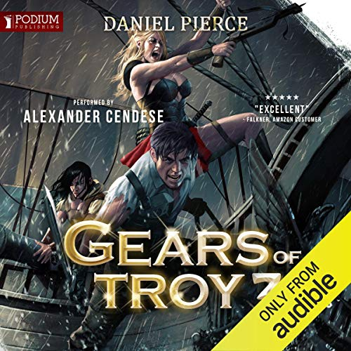 Gears of Troy 3 audiobook cover art