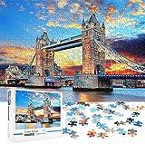 Puzzle 1000 Piezas Adultos Rompecabezas Puente De Londres para Infantiles Adolescentes