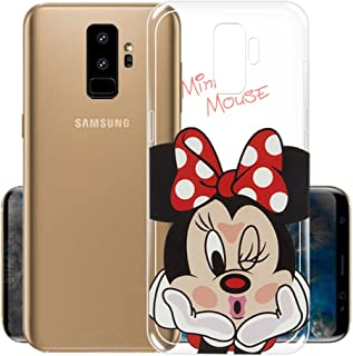 La Casa de Las Carcasas motivo silhouette Minnie Cover ufficiale Disney per Samsung Galaxy S9