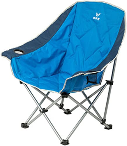 Bleu chaise pliante en plein air chaise de maison chaise portable fauteuil de pêche tabouret fauteuil tabouret