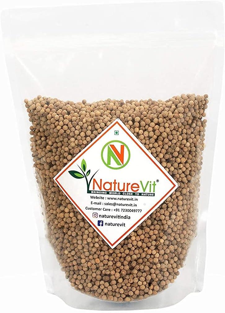 Swara Nature VIT Whole White Pepper g Mirch Sabut Genuine supreme Safed 100