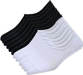 Litthing, Calcetines de Algodón Desodorante Invisibles Cortos Deportivos Transpirable Barco Multicolor Medio Tamaño 44-48 Hombre