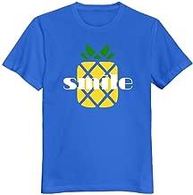 Mar56yutwy Men's 100% Cotton Pineapple T-Shirt