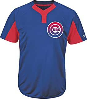 Chicago Cubs Blank or Custom 2-Button Cool-Base Jersey