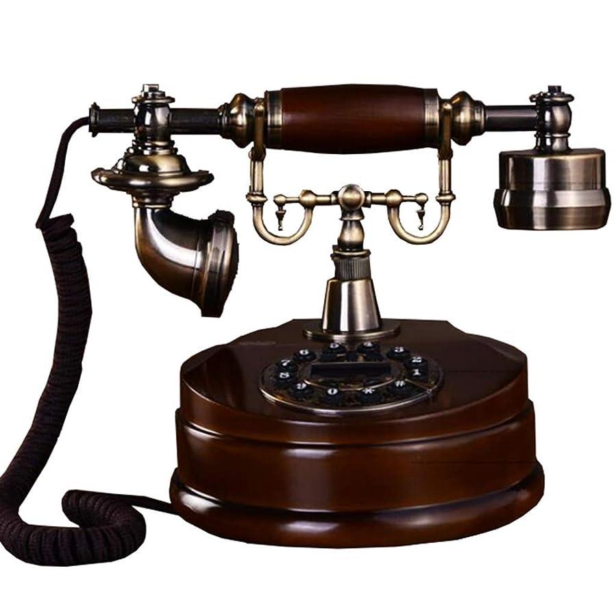 好きである緑フックNfudishpuヨーロッパのレトロ電話無垢アンティーク電話レトロ固定電話オフィスホームリビングルームの装飾