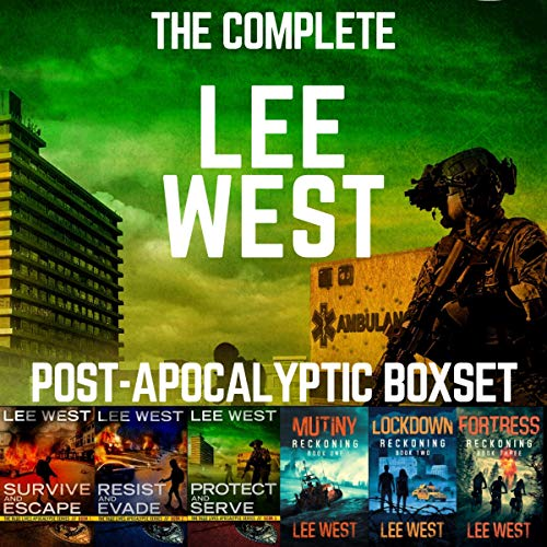 The Complete Lee West Post-Apocalyptic Boxset cover art