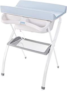 Bañera alta Spalsh ZY Baby - compacta con cambiador, baño
