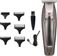 Hair Clipper Beard Trimmer Kit for Men Electric Cordless Hair Mustache Trimmer Clippers USB Rechargeable Hair Clipper Cutter Shaver Hair Cutting Groomer Kit for Home Use