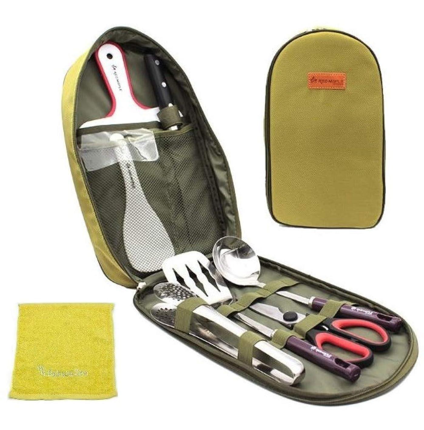 名誉手荷物ステレオSakuraZen バーベキュー 調理器具 BBQ セット キャンプ アウトドア 防災 9ピース