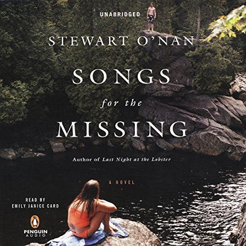 Songs for the Missing audiobook cover art
