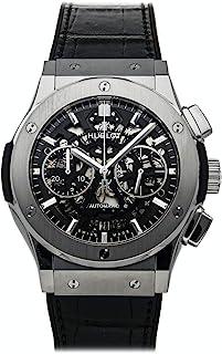 Hublot - Classic Fusion - Reloj (Reloj de pulsera, Masculino, Titanio, Negro, Titanio, Cuero, Caucho, Negro)