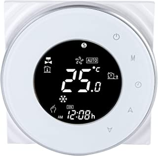 Socobeta WiFi Thermostat LCD Touch Screen Smart Digital Controller for Electric Floor Heating