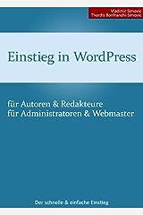Einstieg in WordPress 4.1 [aktualisiert] Kindle Ausgabe