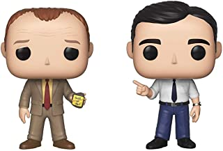 Funko Pop! TV: The Office - Toby Vs Michael 2 Pack