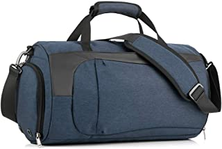 Home Garden Unique Gifts Sports Bag for Boyswith Shoes Compartment WaterproofLightweight Premium Materials Strong Stitching and Thick Cords Training Sport Holdall Travel Overnight Weekend Bag