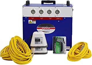Prevsol Bed Bug Heater System for Homes, Apartments, Camps, and Hotels, Portable Heat Treatment Package for Bedbugs, Get Rid of All Bed Bugs in 6-8 Hours, Up to 300 sq ft Room, BBHD-Pro 7