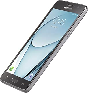 LOCKED to Simple Mobile by using tmobile network- Samsung GALAXY On5 4G LTE with 8GB Memory Prepaid Cell Phone - Black