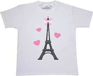 inktastic Paris Lover Eiffel Tower Youth T-Shirt