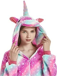 Unicorn Onesie Adult Pajamas for Women Men Teens Onsie Pijama Costume Pj