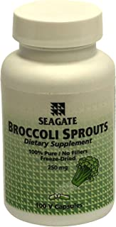 Seagate Products Broccoli Sprouts 250 mg 100 Capsules