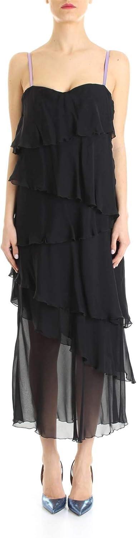 Rame Women's ABI29BLACK Black Viscose Dress