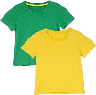 Holy Unicorn Boys' Girls' Short-Sleeve Cotton T-Shirt 2-Pack