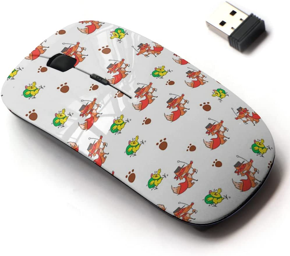 2.4G Wireless Mouse with Cute Pattern for New products world's highest quality popular Ranking TOP10 Design Laptops All and