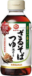キッコーマン食品 香る一番だし ざるそばつゆ 300ml×4本