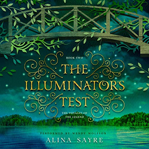 The Illuminator's Test audiobook cover art