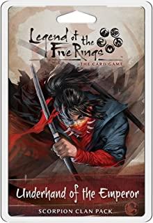 Fantasy Flight Games Legend of The Five Rings LCG Underhand of The Emperor Board Games