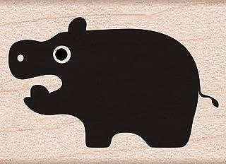 Hero Arts Little Hippo, Acrylic, Multicolour, 3.65x2.59x2.59 cm
