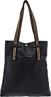 Truth of Touch Womens Sam Faux Leather Newspaper Tote Handbag
