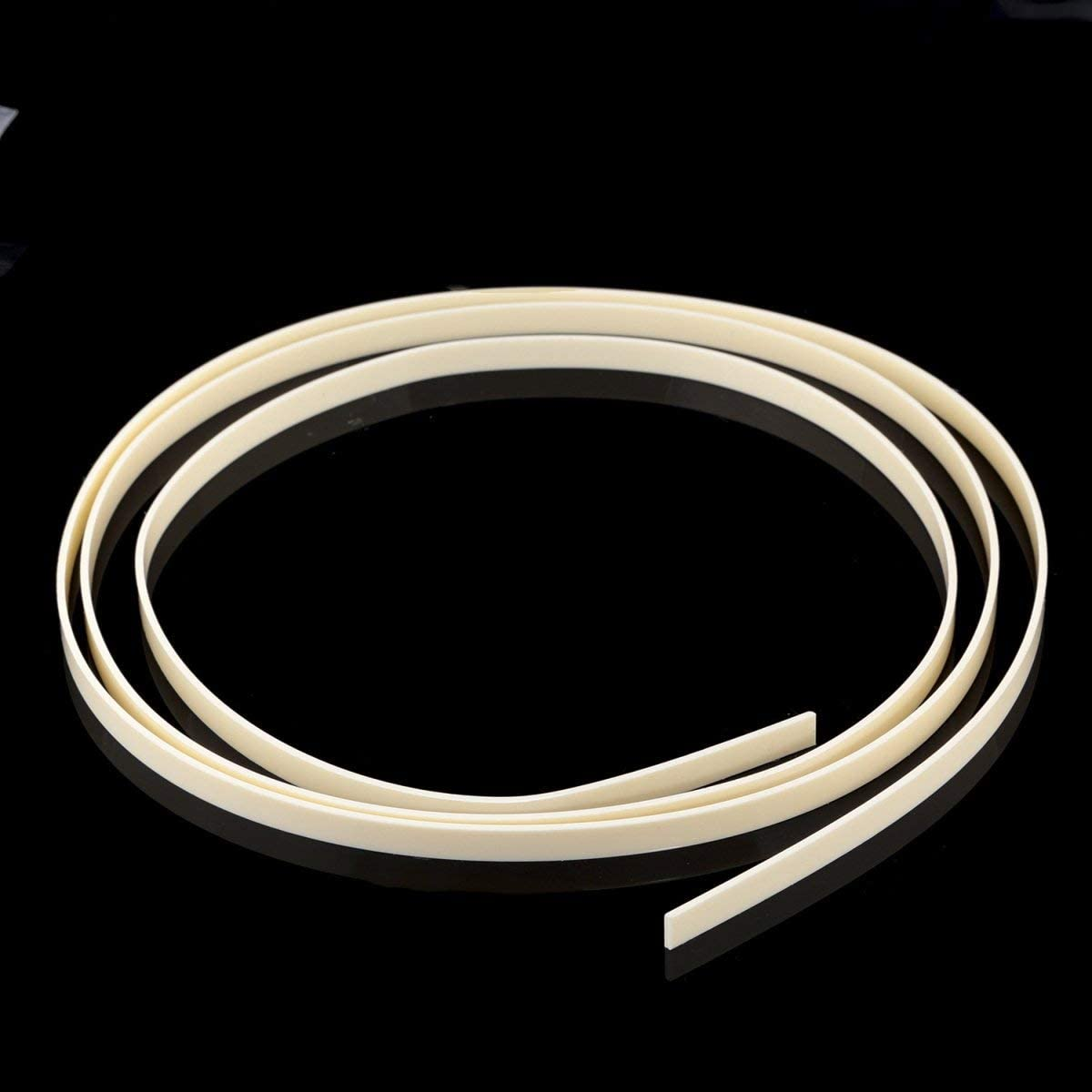 Musiclily Max 42% OFF 1650x7x1.5mm Plastic Binding Acoust for Purfling Strip OFFicial site