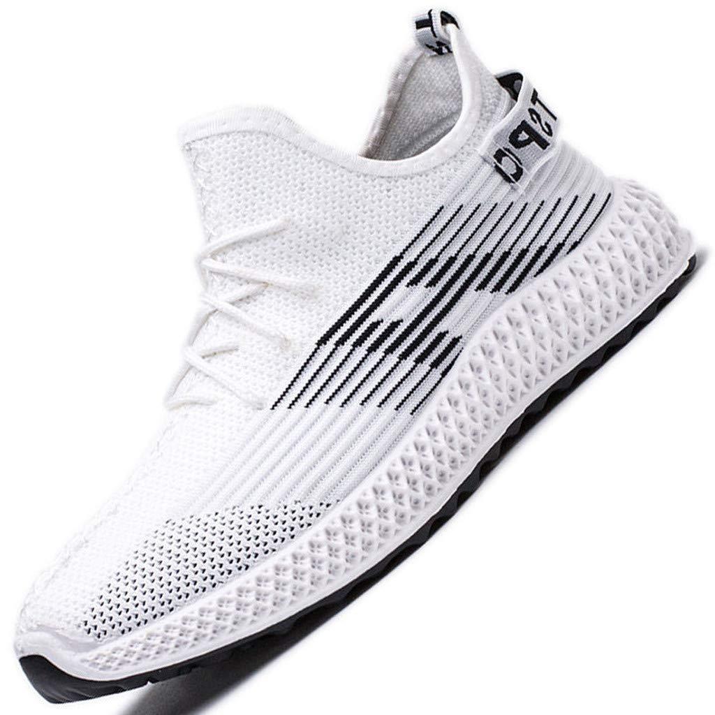 ღLILICATღ Zapatillas para Hombres Tejer Volando Running Sneakers ...
