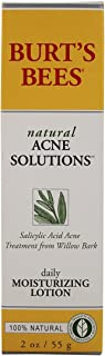 Burt's Bees Natural Acne Solutions Daily Moisturizing Lotion 2 oz (Pack of 2)