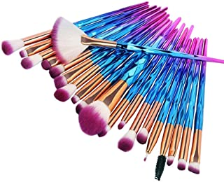 Make up Brushes, JSwell 20pcs Makeup Brush Set Premium Cosmetic for Blending Foundation Powder Blush Concealers Highlighte...