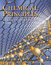 Chemical Principles by Atkins, Peter Published by W. H. Freeman 6th (sixth) edition (2012) Hardcover