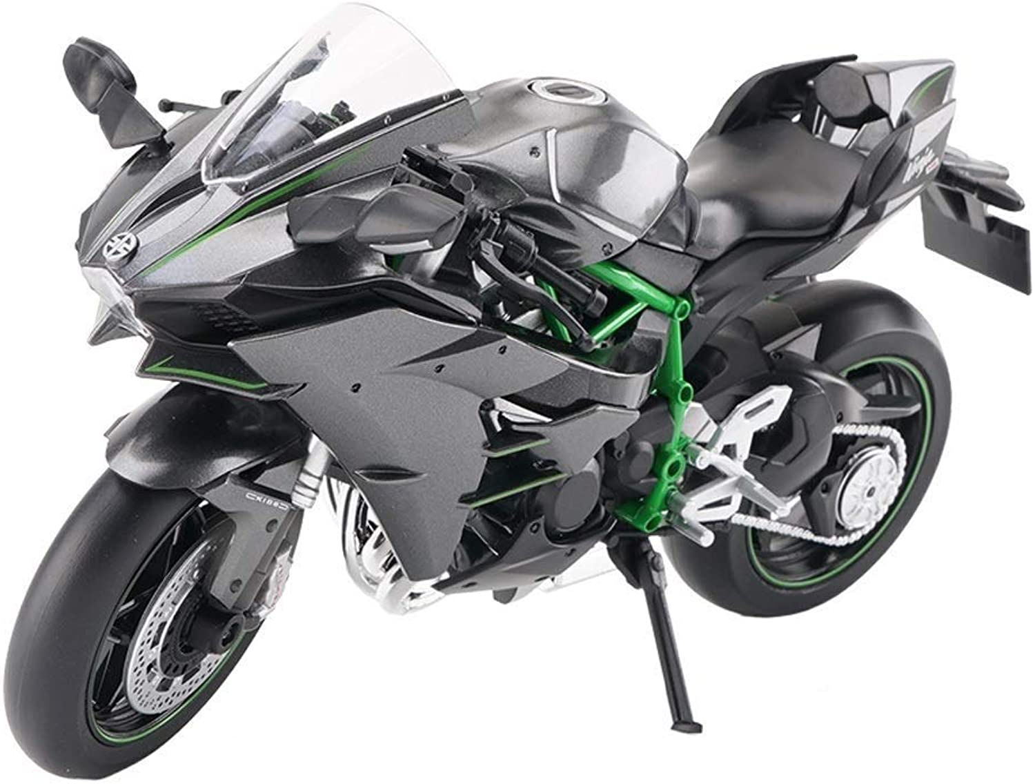Maisto 1 12 Scale Motorcycle Model 1 12 Kawasaki H2R Motorcycle Model Motor Cycle Car Collection Kids Toys Scale Model Simulation Vehicle