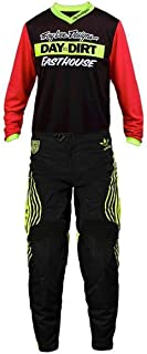 Troy Lee Designs GP DITD & SE Pro Team MX Gear Set Yellow Black Red Small / 28a